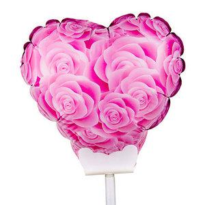 hartballon roze