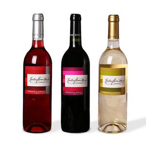 wijntrio rood/wit/rosé